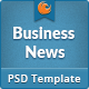 Business News PSD Nulled