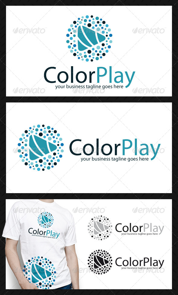 Creative Play Logo Template - Objects Logo Templates