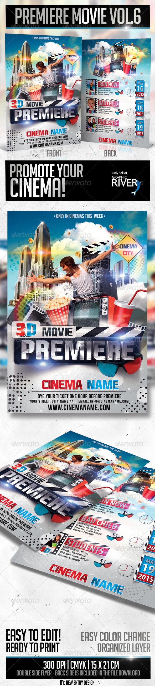 Premiere Movie Vol6 - Miscellaneous Events