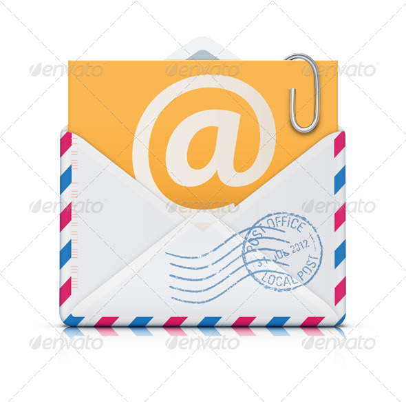 E-mail Concept - Communications Technology