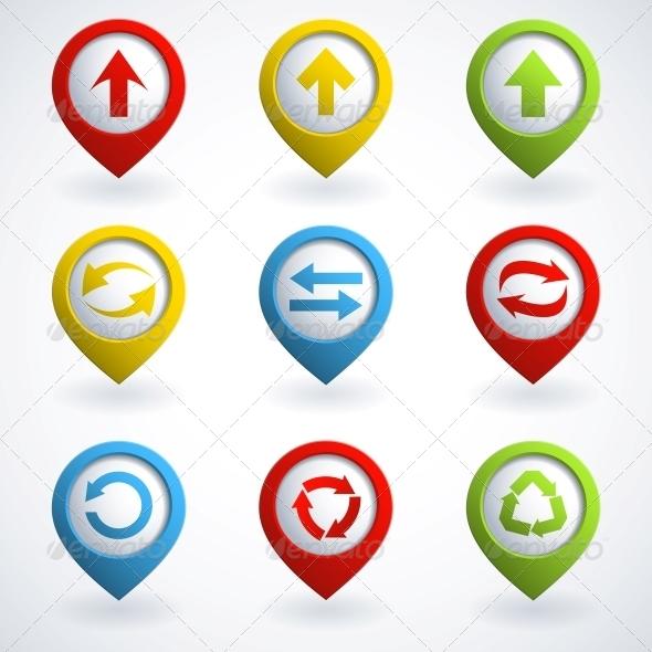 Arrow Buttons - Web Technology
