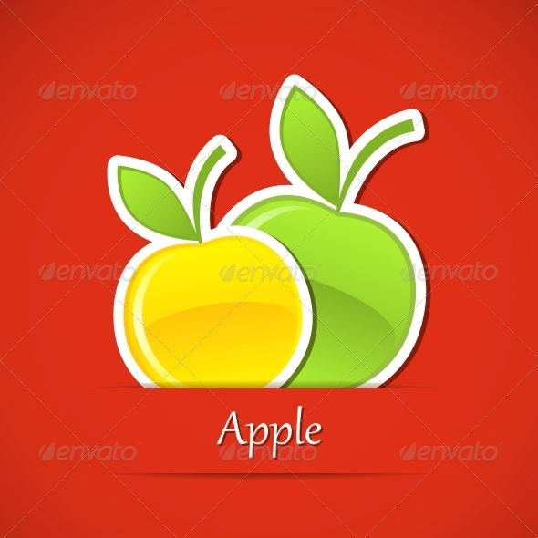 Fruit Label - Food Objects