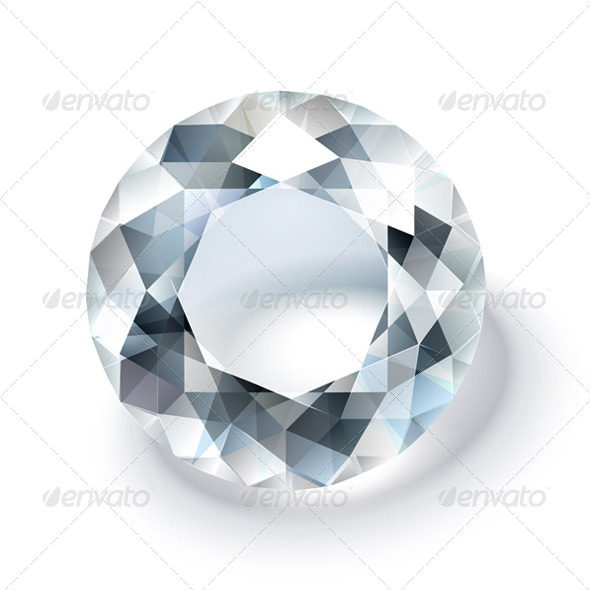 Pure Diamond - Objects Vectors
