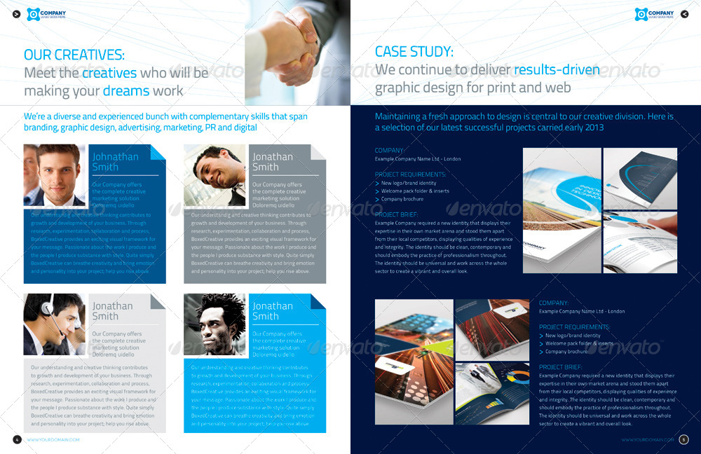 design proposal indesign 16 page layout 01 by boxedcreative