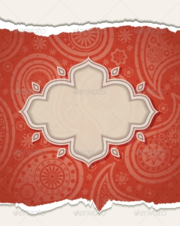 Indian frame. - Patterns Decorative