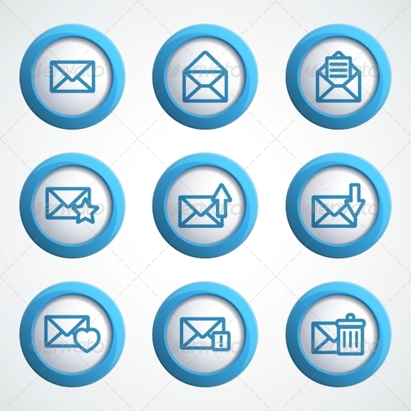 Message icons - Web Technology