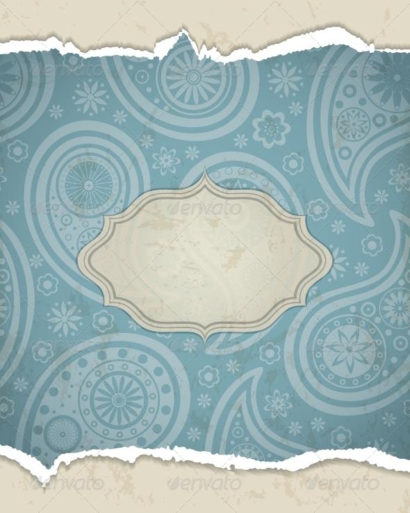 Indian frame. - Patterns Decorative