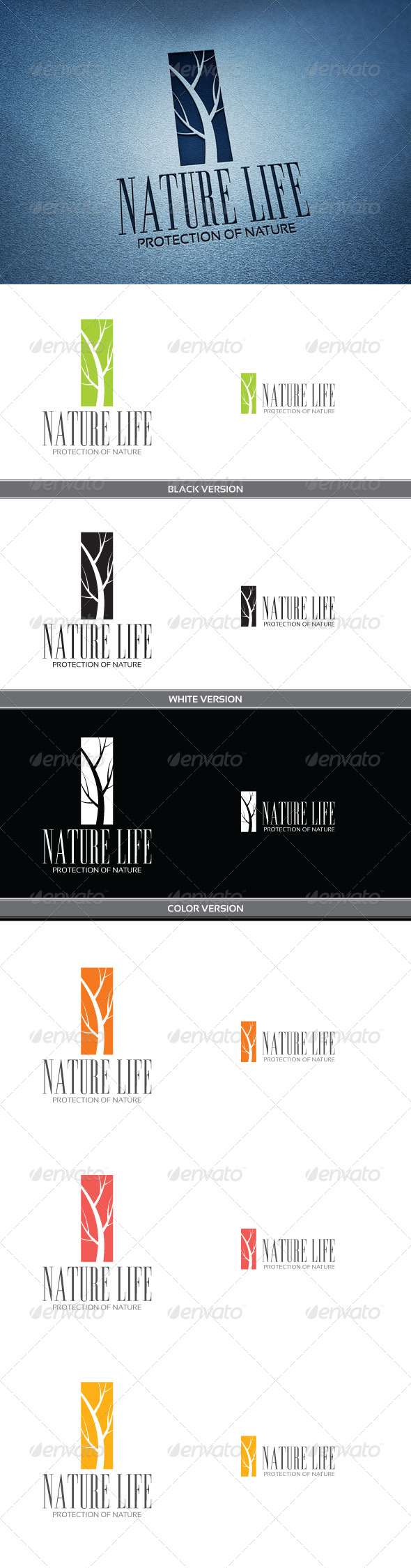 Nature Life - Nature Logo Templates