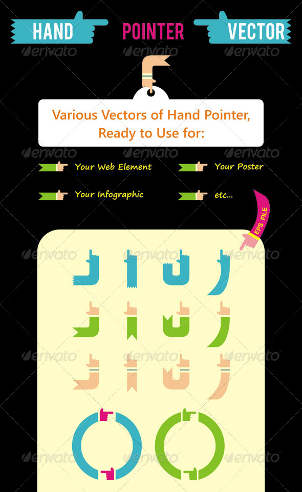 Hand Pointer Vector - Miscellaneous Vectors