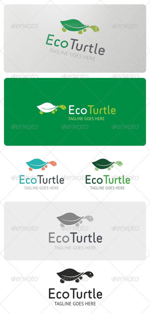 Eco Turtle Logo Template - Animals Logo Templates