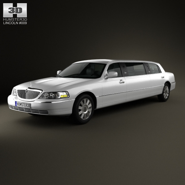 Lincoln Town Car Limousine 2011 - 3DOcean Item for Sale
