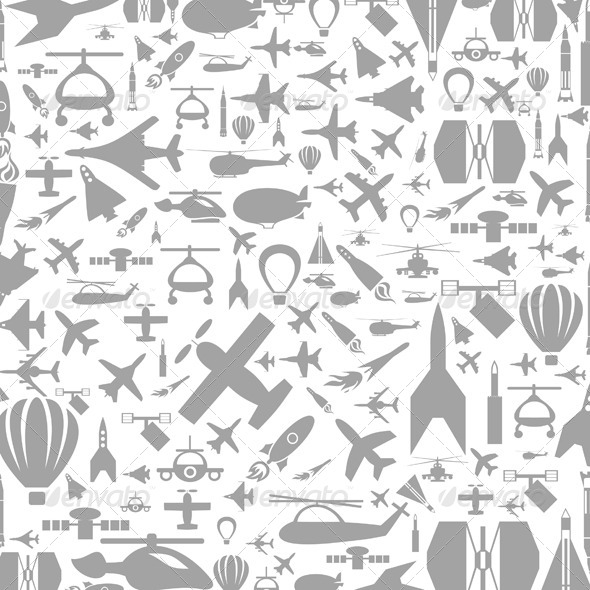 Aircraft Background - Man-made Objects Objects