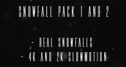 Snowfall Pack 1 and 2