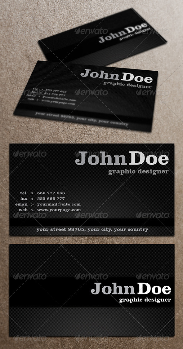 Business Card - Creative Business Cards