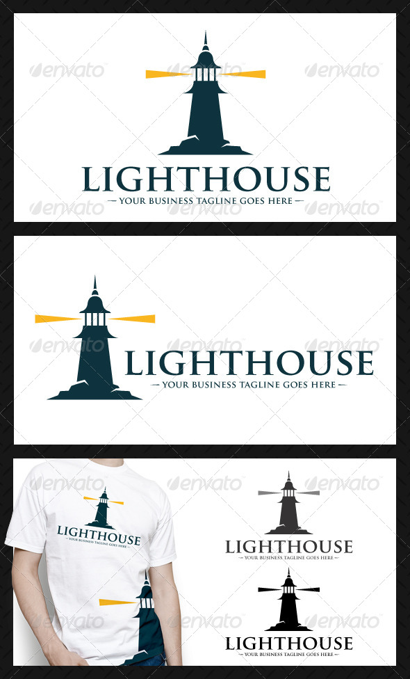 Lighthouse Logo Template - Buildings Logo Templates
