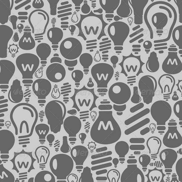 Bulb Background - Man-made Objects Objects