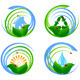 Set  of an Environmental Design Elements - GraphicRiver Item for Sale