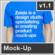 Crew Neck T-Shirt Mock-Up - GraphicRiver Item for Sale
