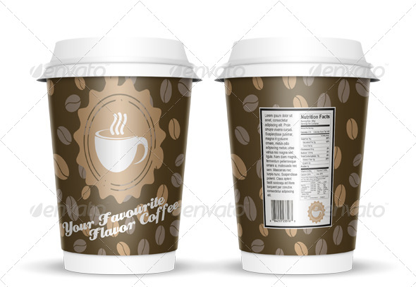 Coffee Cup Mock Up - Food and Drink Packaging