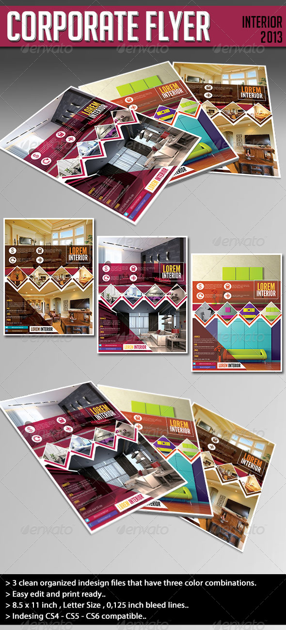 Corporate Flyer - Interior 2013 - Corporate Flyers