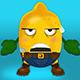 Lemon 404 Error Web Page - GraphicRiver Item for Sale