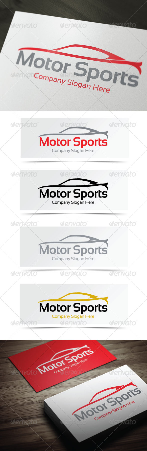 Motor Sports Logo - Objects Logo Templates