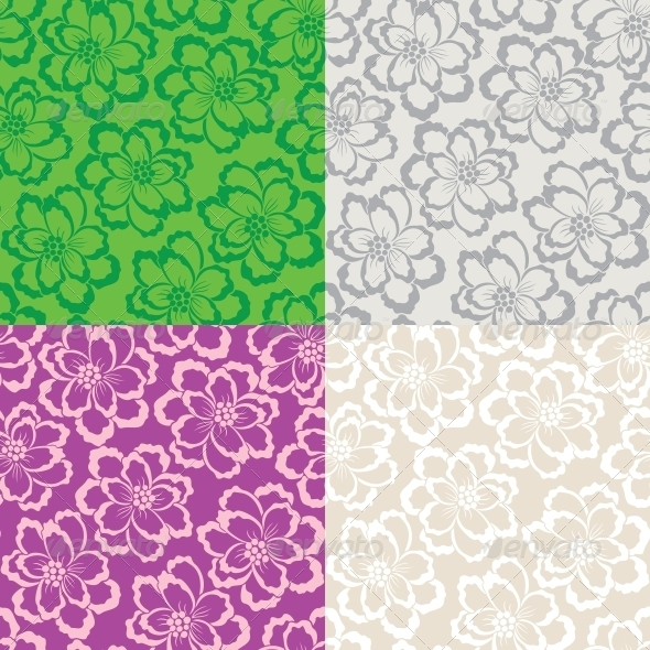 Decorative Floral Seamless Pattern - Patterns Decorative
