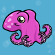 Cute Cartoon Octopus