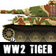 World War 2 Tank, Tiger - GraphicRiver Item for Sale