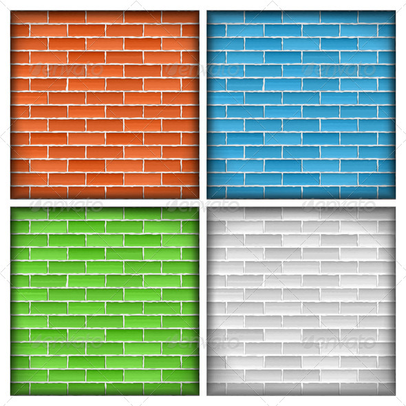 Brick Walls - Backgrounds Decorative