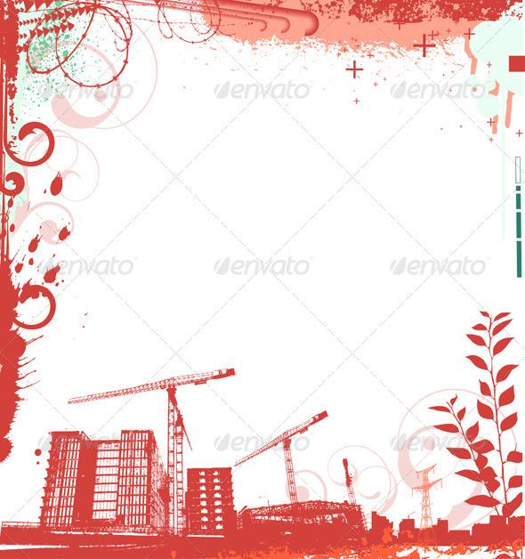 urban grunge frame - Conceptual Vectors