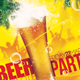 Beer Party Poster & Flyer Template - GraphicRiver Item for Sale