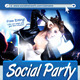 Social Party Flyer Template - GraphicRiver Item for Sale