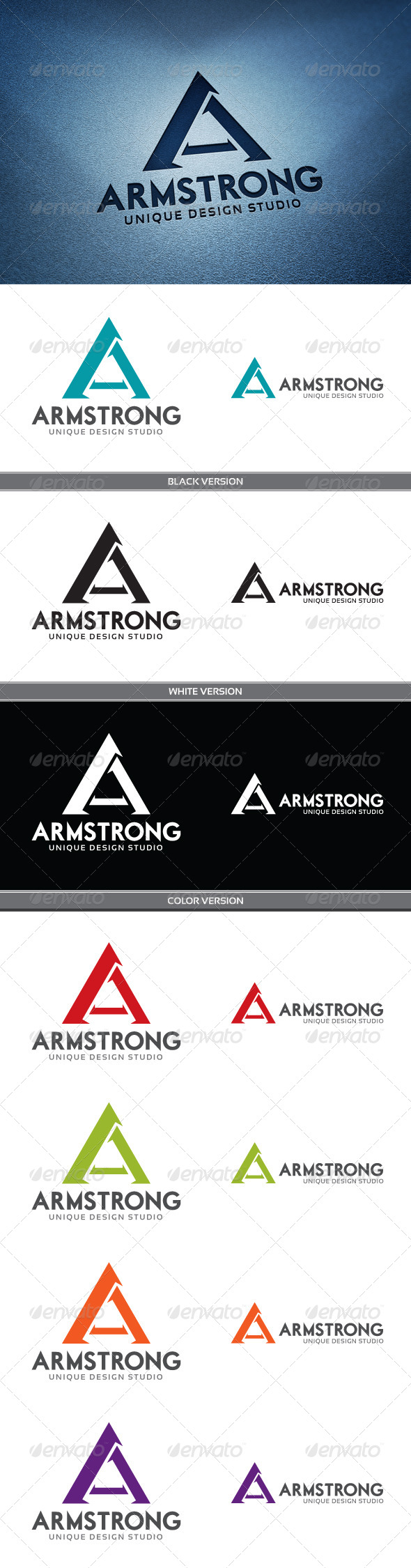Armstrong - Letters Logo Templates