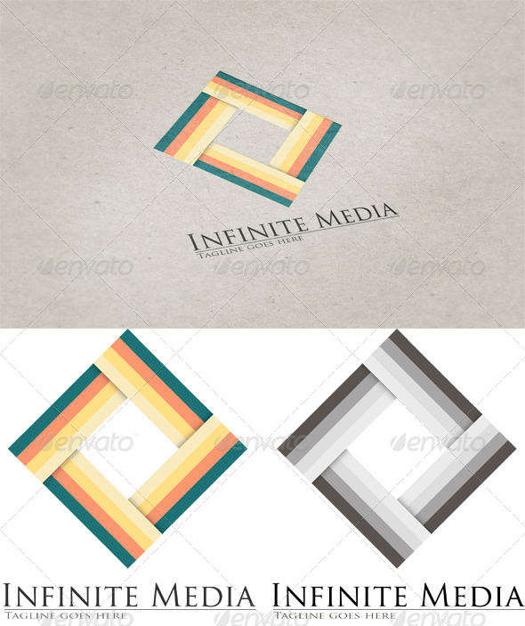 Infinite Media Logo Template 2 - Vector Abstract