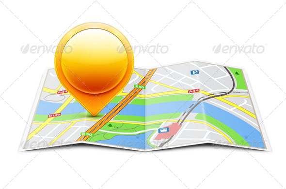 Navigation Concept  - Travel Conceptual
