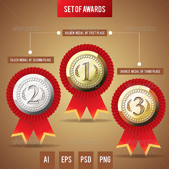 Awards - Decorative Vectors