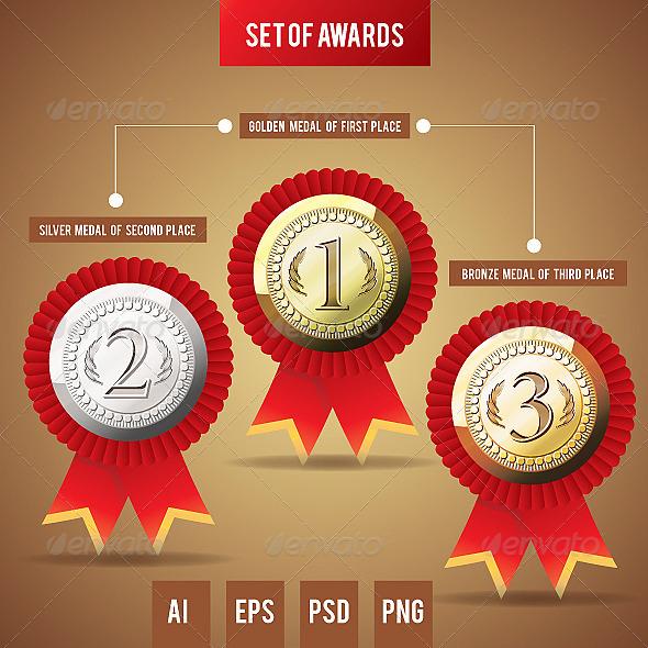 Awards - Decorative Vectors