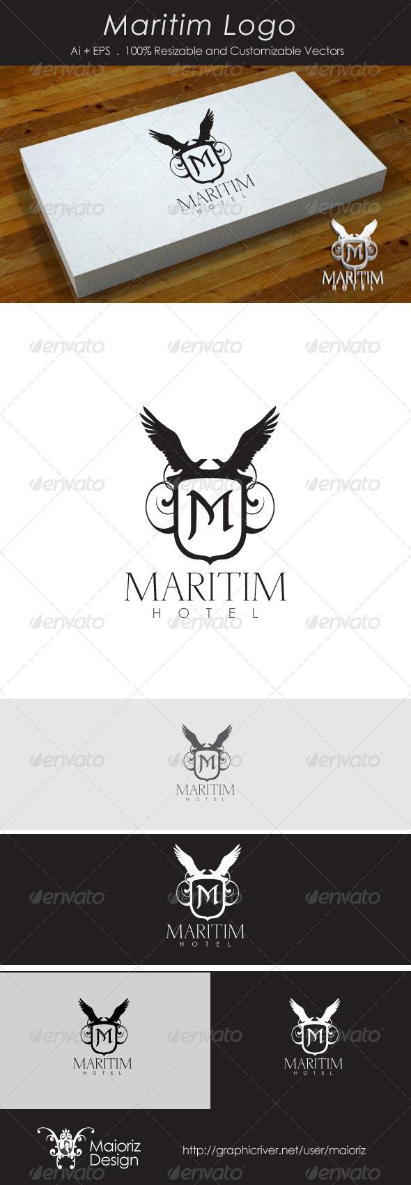 Maritim Logotype - Crests Logo Templates