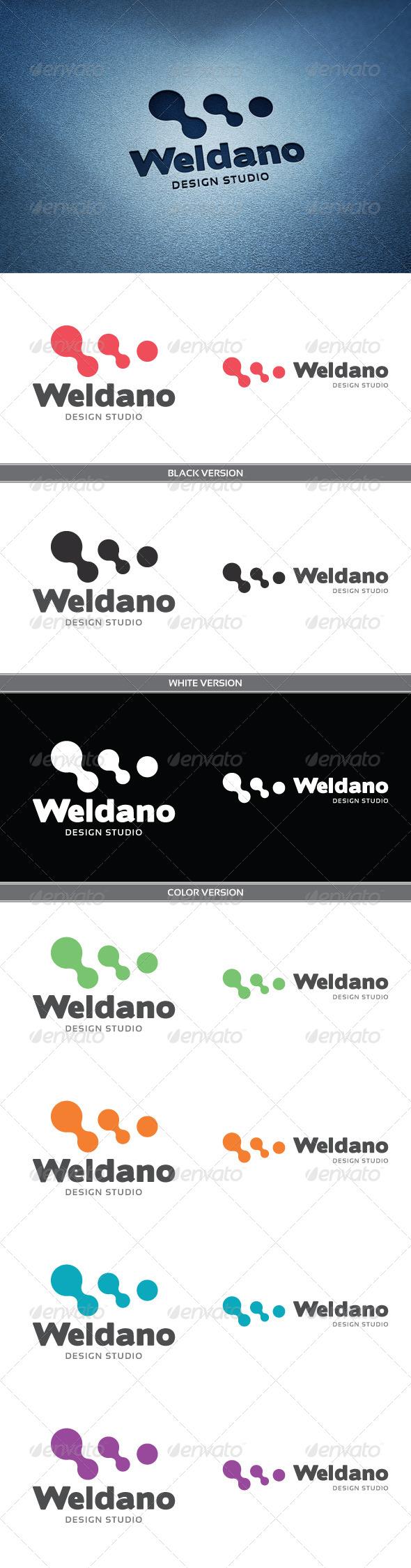 Weldano - Letters Logo Templates