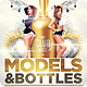 Models And Bottles Flyer Template Vol.2 - GraphicRiver Item for Sale