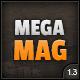 MEGAMAG - A Responsive Blog/Magazine Style Theme Nulled