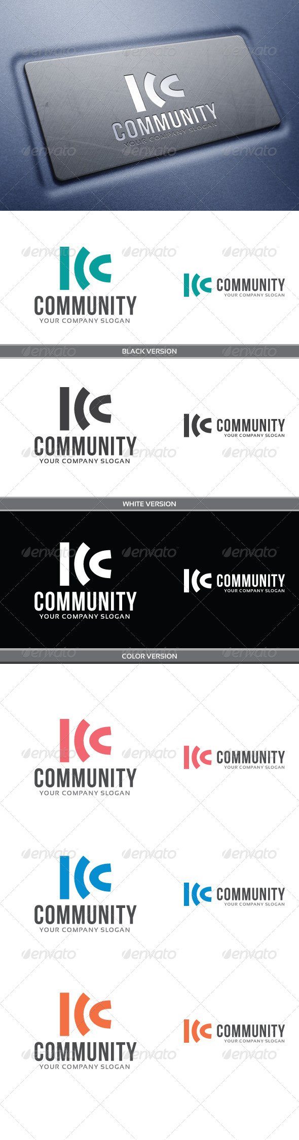 Community - Abstract Logo Templates