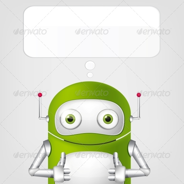 Cute Robot - Monsters Characters