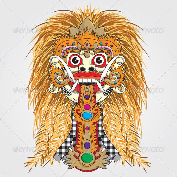 Rangda Bali - Halloween Seasons/Holidays