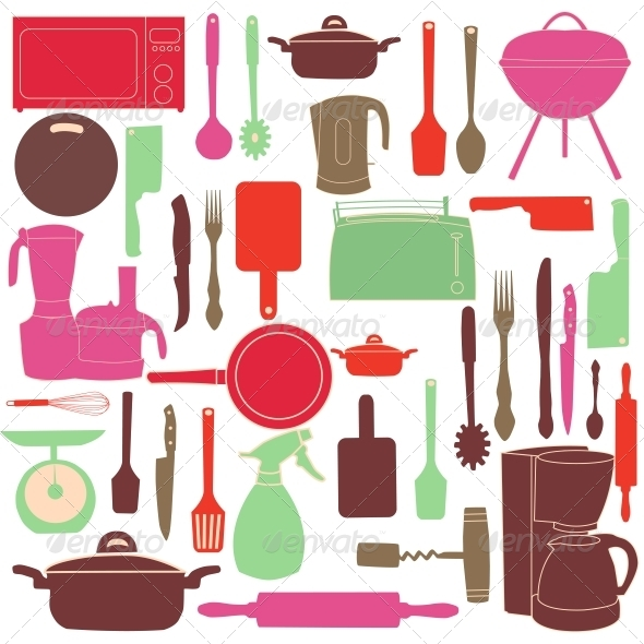 Kitchen Tools for Cooking - Abstract Conceptual