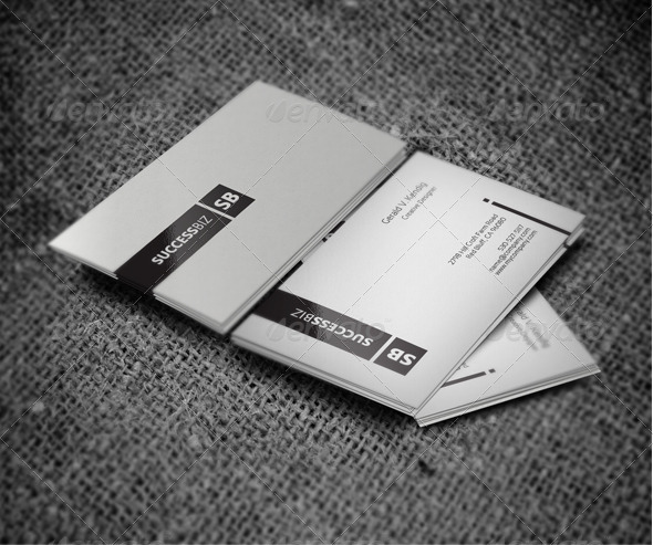 Minimal Clean Business Card - Business Cards Print Templates