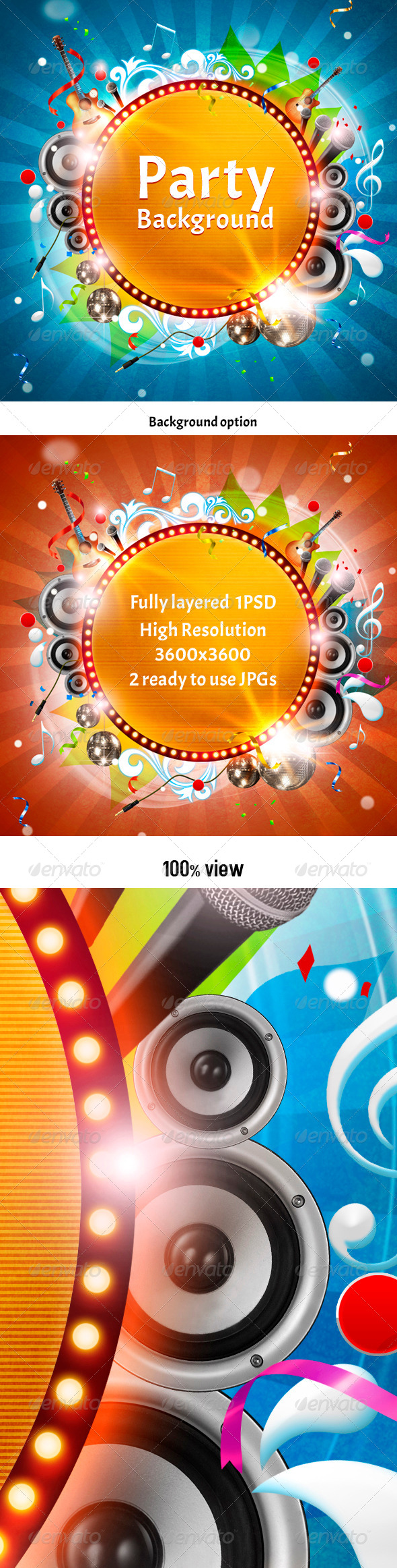 Party Background - Miscellaneous Backgrounds
