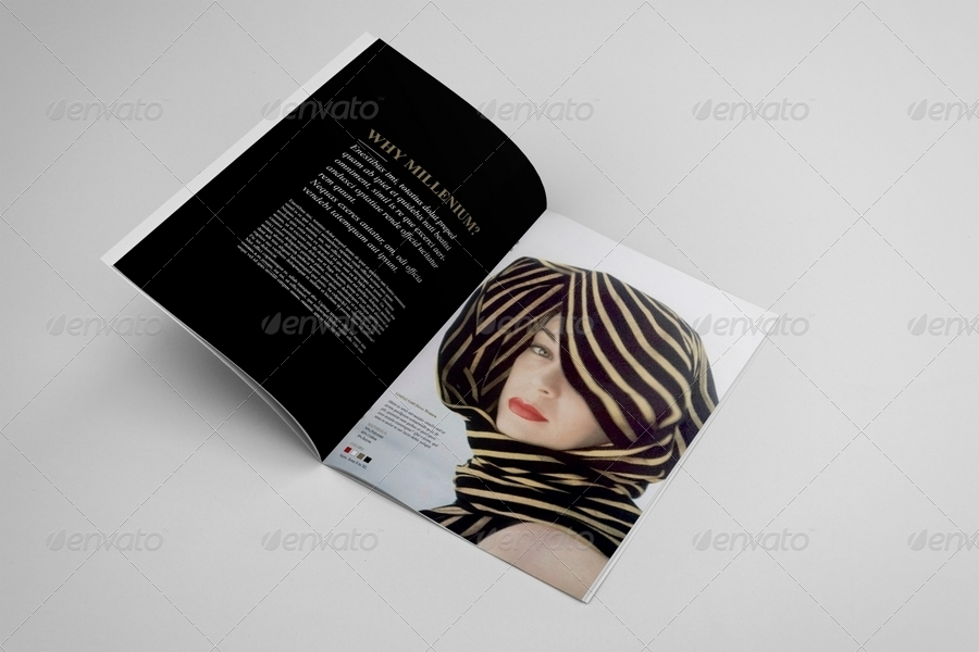 Fashion Catalogue / Brochure Template by andre28 | GraphicRiver