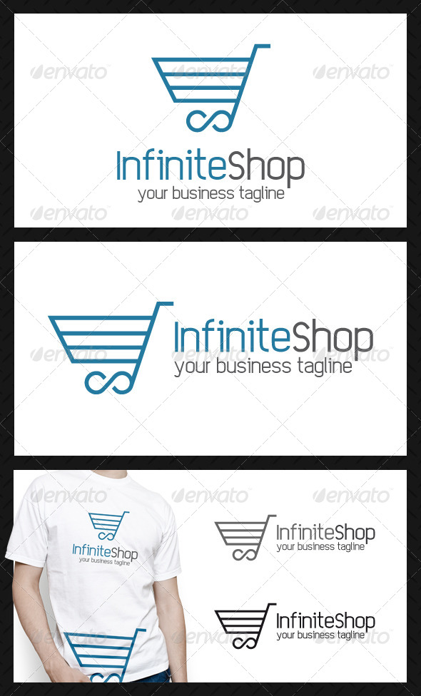 Infinite Shopping Logo Template - Objects Logo Templates